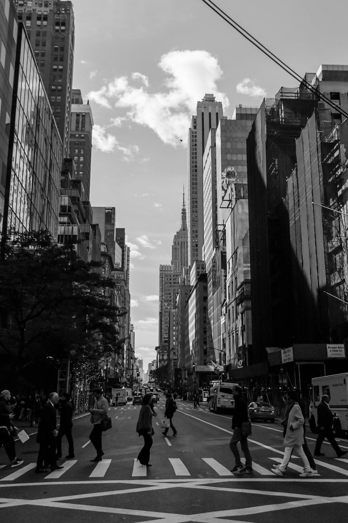 People on the Street, NY